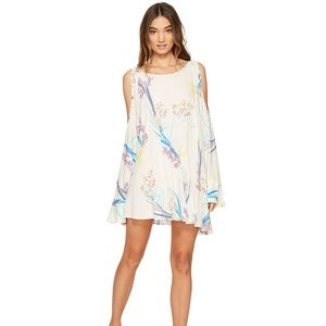 Free People Clear Skies Knee Length Shift Dress